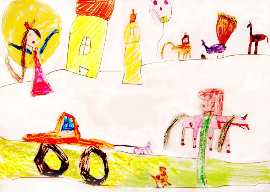 Детские рисунки о туризме