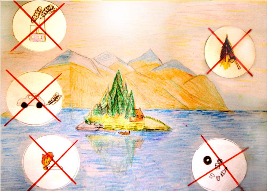 Детские рисунки об экологии