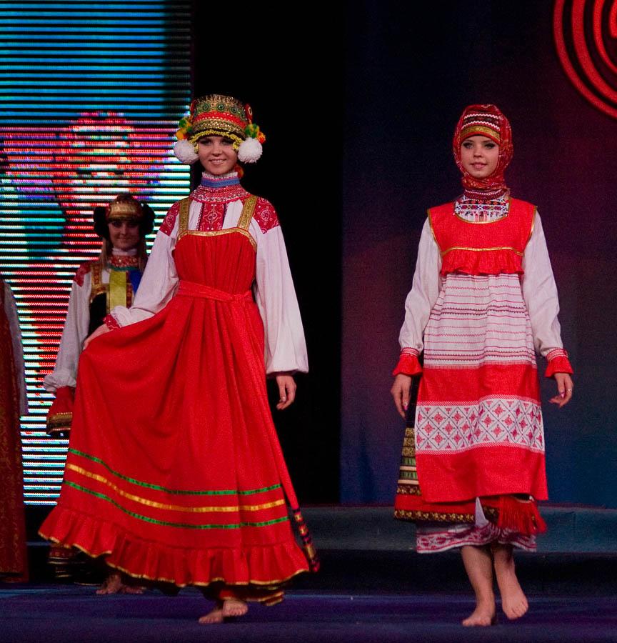 Русское народное платье видео