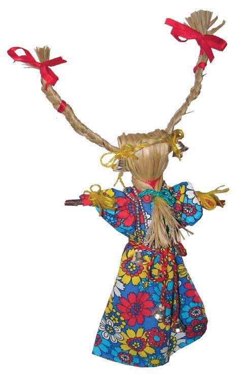 кукла меланка - мать