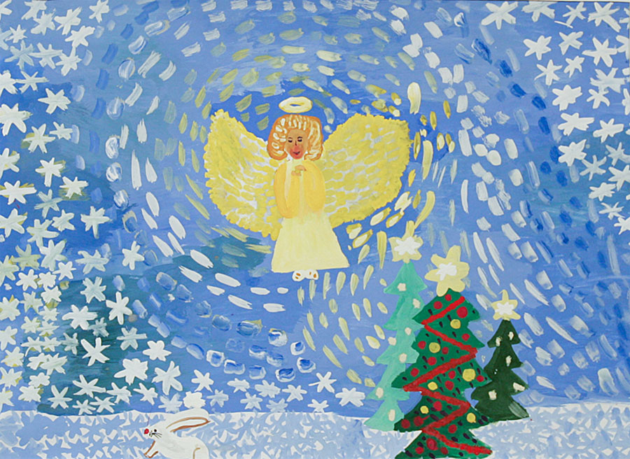 Рисунки ангел