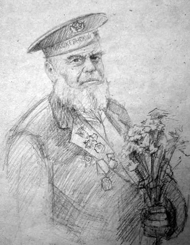 Ветеран. рисунок