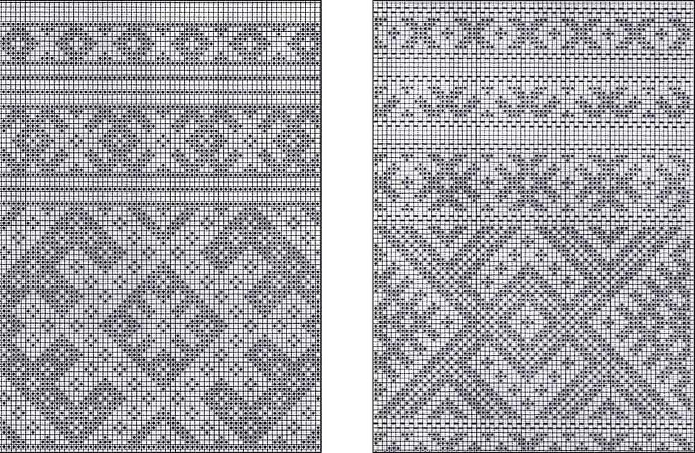 Схемы для вышивания браных