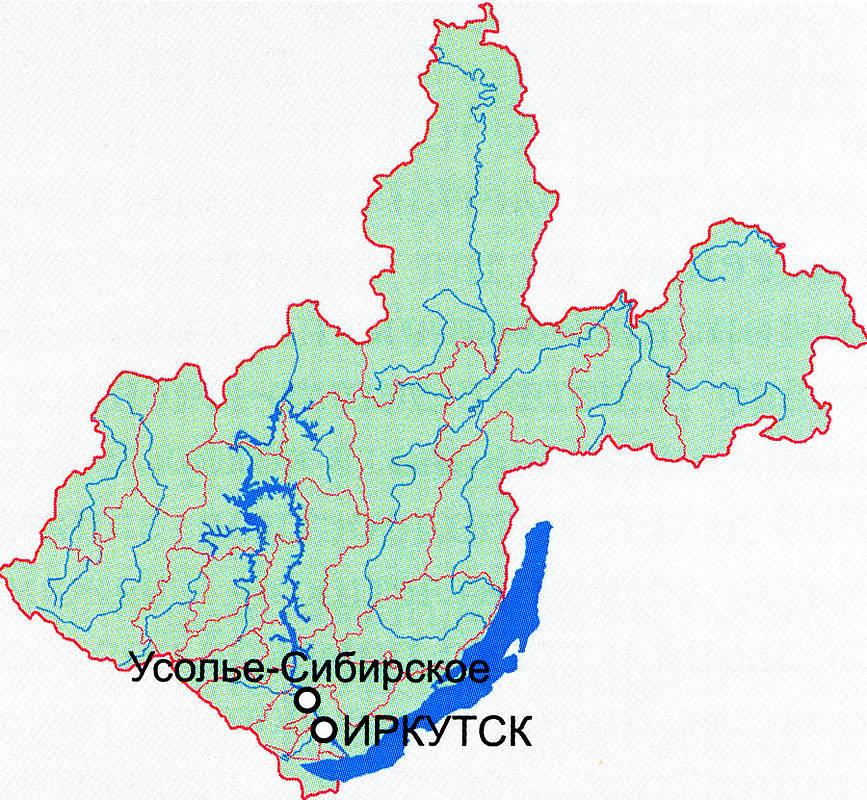 Усолье-Сибирское, Иркутская