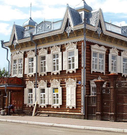 Иркутск кружевной дом фото