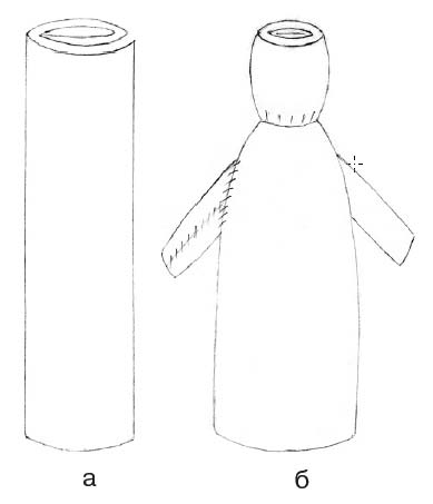 Схема изготовления куклы