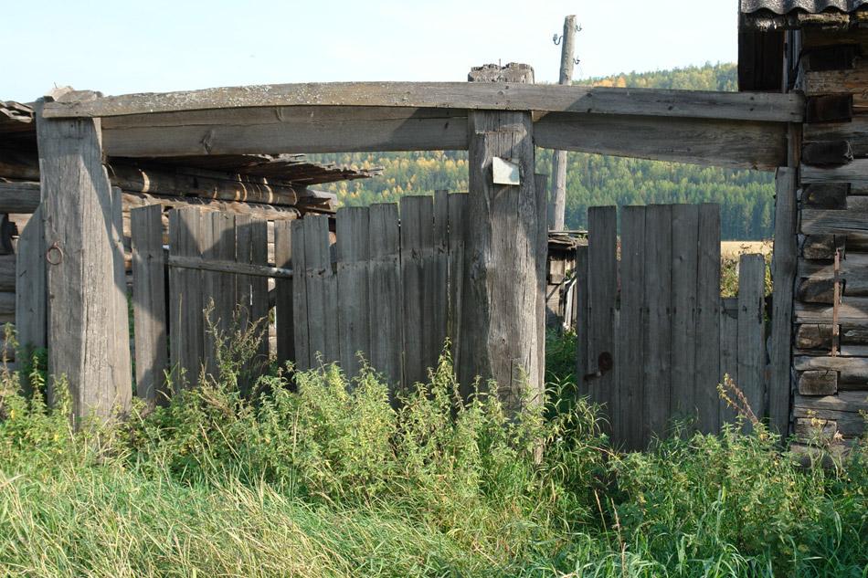 Деревенские ворота